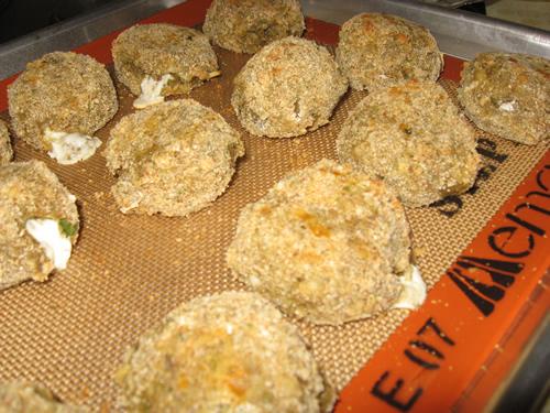 Eggplant Parm Balls