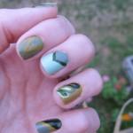 4- Green Nails