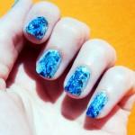 5- Blue Nails